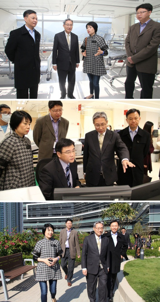 Hospital Authority Chairman visited North Lantau Hospital 2