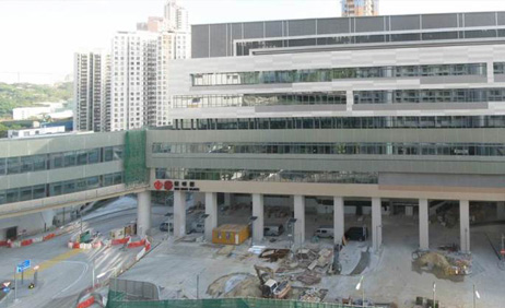 Rehabilitation block was completed in November 2013
